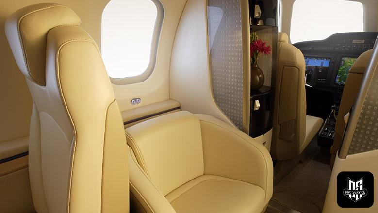 Tapicer a aviones nuestros servicios pro service - Materiales para tapizar ...