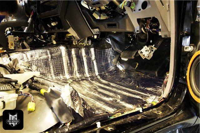 Insonorizaci n del salpicadero insonorizaci n del coche - Materiales para insonorizar ...