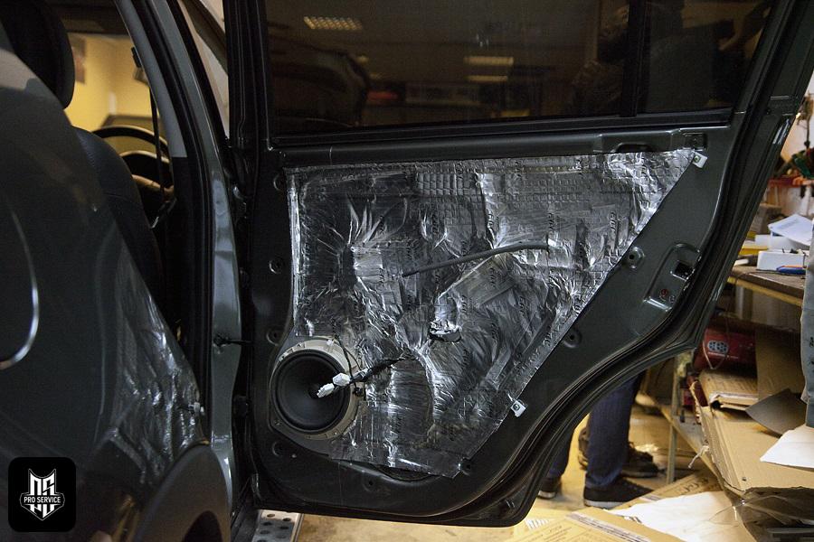 Insonorizaci n de las puertas insonorizaci n del coche - Material de insonorizacion ...